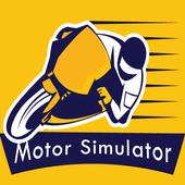 Simulator Sepeda Motor icon