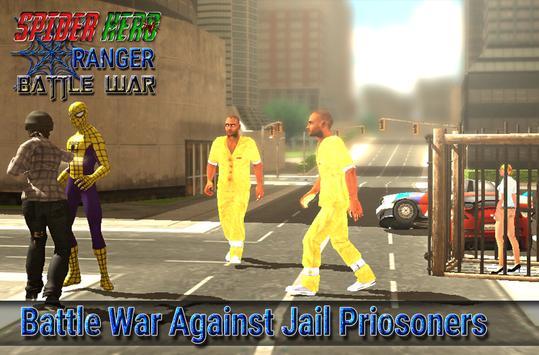 spider hero ranger battle war screenshot 16