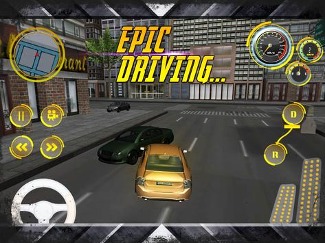 Extreme Police Drift Simulator apk screenshot