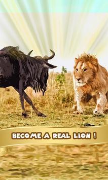 Lion Simulator poster