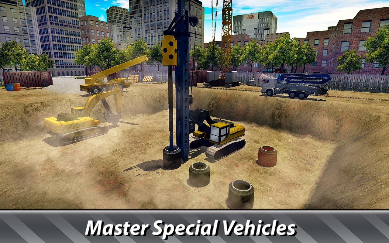 House Building Simulator Try Construction Trucks For Android Apk Download