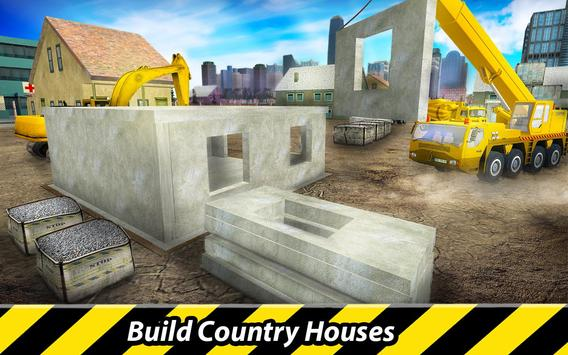 Country House Construction Simulator poster