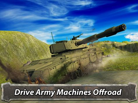 Army Driving: Military Truck Offroad screenshot 5