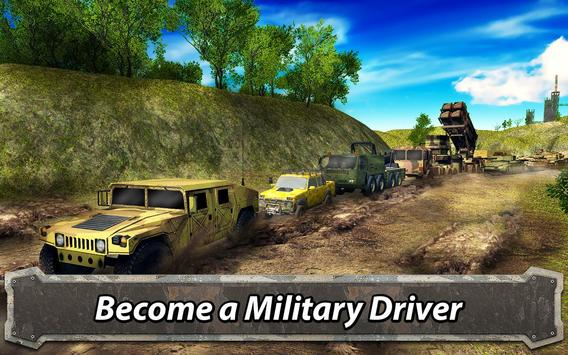 Army Driving: Military Truck Offroad poster