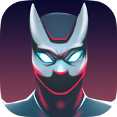 Flying Superhero Bat 3D icon
