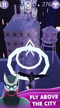 Flying Superhero Bat 3D poster