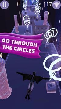 Flying Superhero Bat 3D screenshot 1