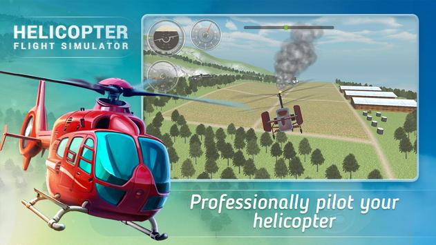 Helicopter Simulator - Flight poster