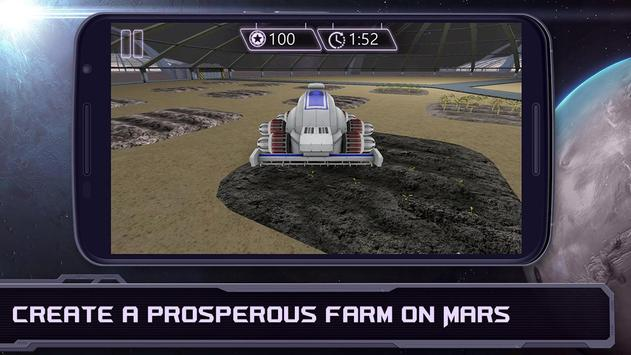 Space Farm - Mars Colonization poster