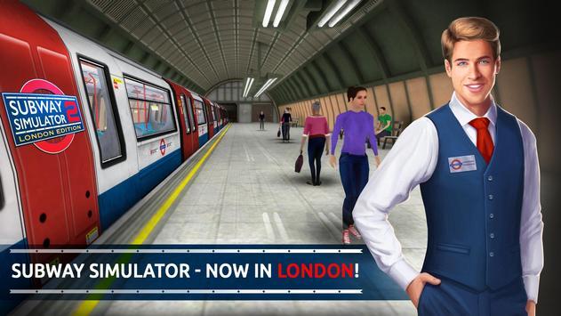 Subway Simulator 2 - London poster