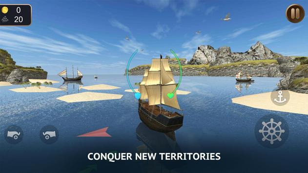 Pirate Ship Sim 3D - Royale Sea Battle apk screenshot