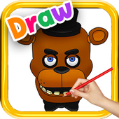 How to Draw FNAF Easy Characters icon