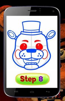 How to Draw FNAF Easy Characters apk screenshot