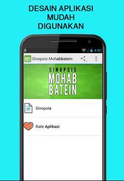 Sinopsis Mohabbatein screenshot 1