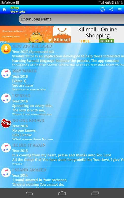 lyrics downloader website