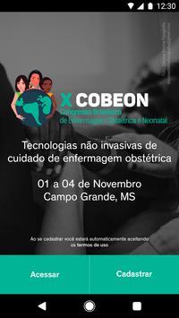 X COBEON - Enfermagem Obstétrica poster