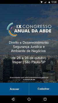 Congresso ABDE 2016 poster