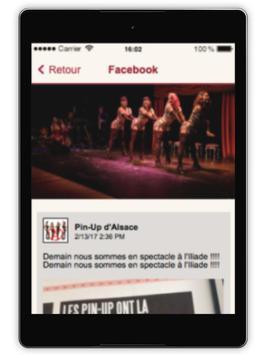 Pin-up d'Alsace apk screenshot