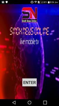 sindh news online tv poster