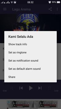 Lagu Arema Lengkap apk screenshot