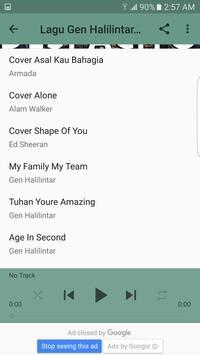 Lagu Gen Halilintar Cover Terbaru apk screenshot