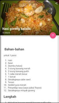 Resep Nasi Goreng Terbaru screenshot 1