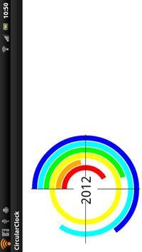 CircularClock apk screenshot