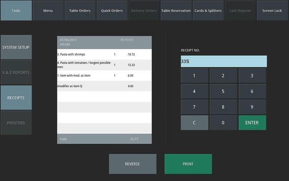Sineron – Restaurant POS apk screenshot