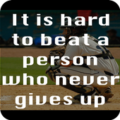 Baseball Quotes about Life icon