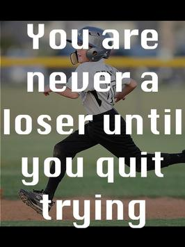 Baseball Quotes about Life poster