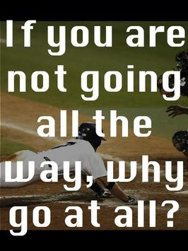 Baseball Quotes about Winning poster