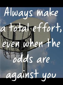 Basketball Quotes for Players apk screenshot