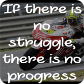 Famous Bike Racing Quotes icon