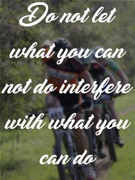 Cycling Quotes Pain apk screenshot