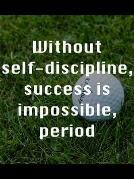 Golf Quotes by Famous Golfers poster