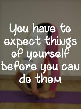 Gymnastics Motivational Quotes apk screenshot