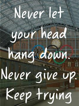 Olympics Quotes Inspirational poster
