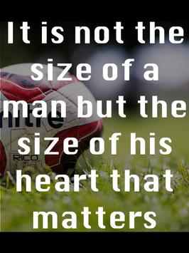 Soccer Motivational Quotes 4 poster