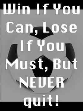 Soccer Motivational Quotes 4 apk screenshot