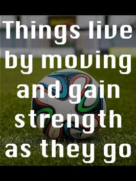 Soccer Motivational Quotes 5 poster