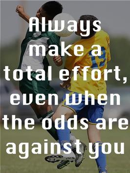 Soccer Motivational Quotes 5 apk screenshot