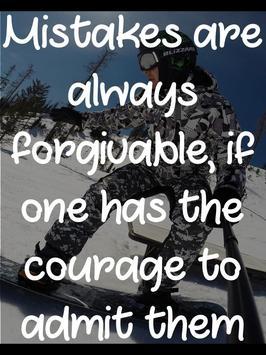 Snowboard Motivational Quotes apk screenshot