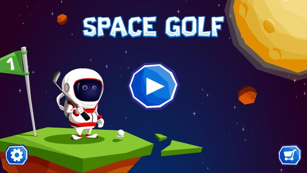 Space Golf Galaxy poster