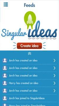 SingularIdeas poster