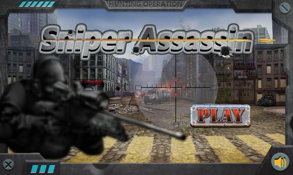Sniper Assassin poster