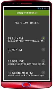 Radio Singapore: Radio Online + FM Radio Singapore poster