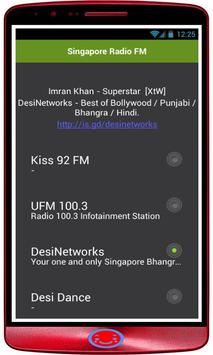 Radio Singapore: Radio Online + FM Radio Singapore screenshot 1
