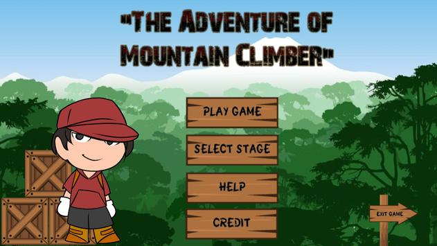 Adventure of Mountain Climber poster