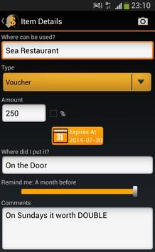 RefundR - Refund Manager apk screenshot