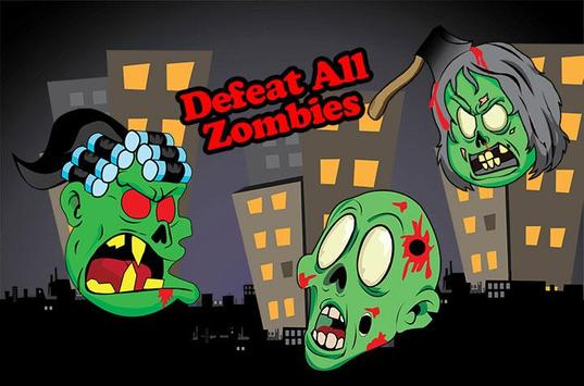 Zombie elevator poster